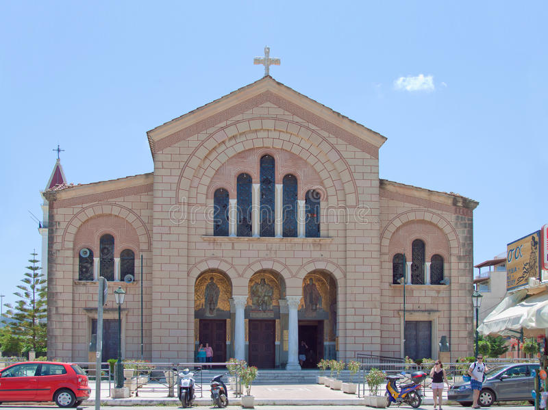 The Temple of Saint Dionysius stock photography