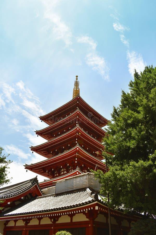 Temple Sakura de Kiyomizu-dera à Kyoto, Japon photos libres de droits