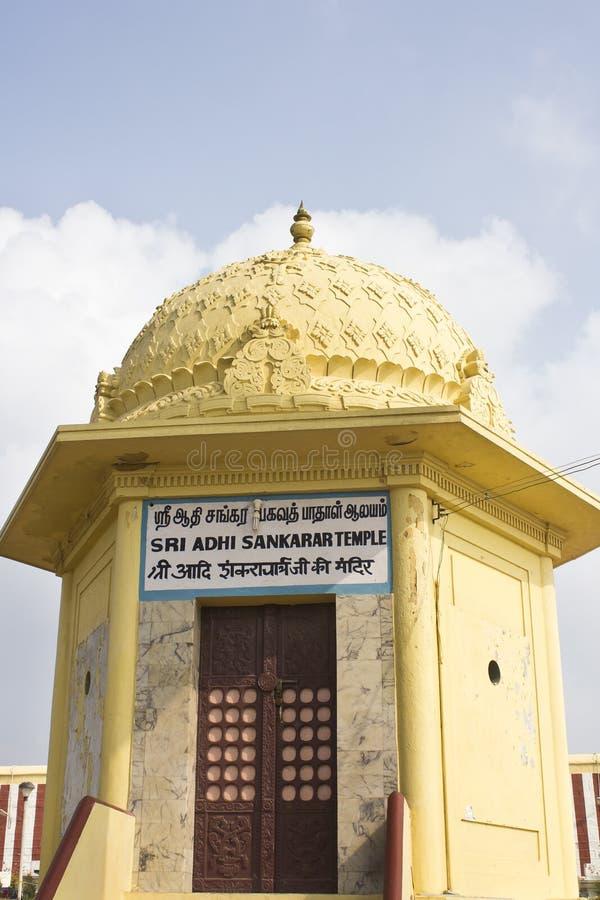Temple of Shri Adi Shankara in Kanyakumari stock photography