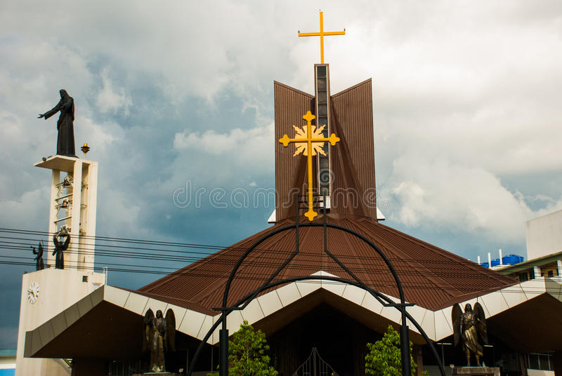 Temple Sibu Sarawak, Malaisie photographie stock libre de droits