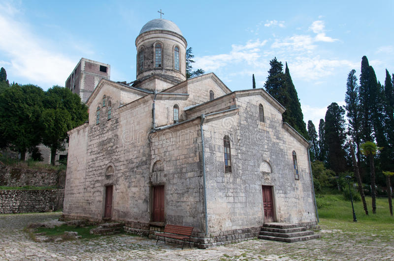 Temple of Simon the Canaanite royalty free stock photo