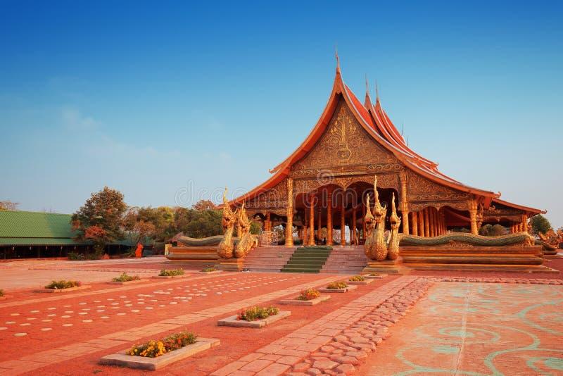Temple Sirindhorn wararam royalty free stock photos