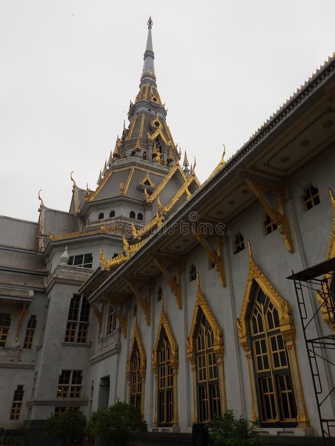 Temple Sothon Worawiharn images libres de droits