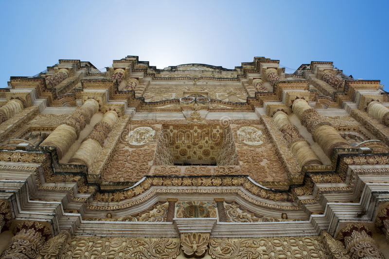 Temple of St. Domingo royalty free stock photos