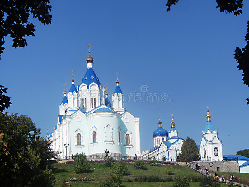 Temple. St. Seraphim Of Sarov stock images