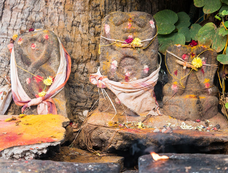 Temple Tamil Nadu d'Ayyanar photo stock
