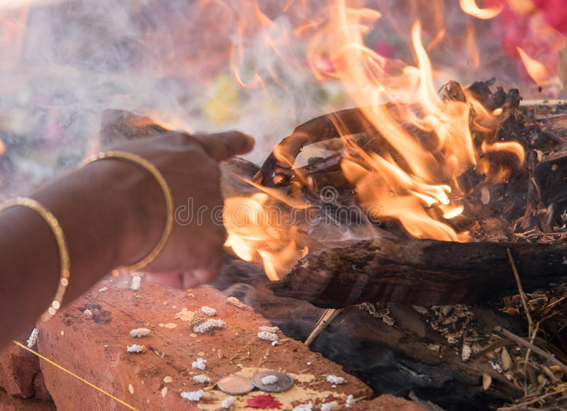 Temple Tamil Nadu d'Ayyanar photos libres de droits