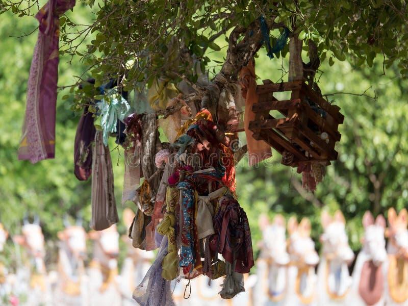 Temple Tamil Nadu d'Ayyanar images libres de droits
