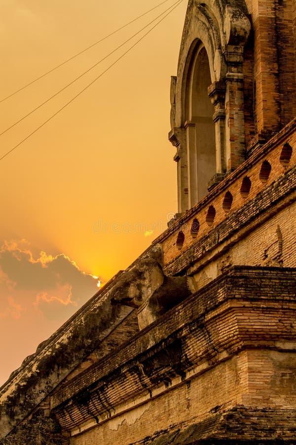 Temple, temple thaïlandais, Chiang Mai images stock