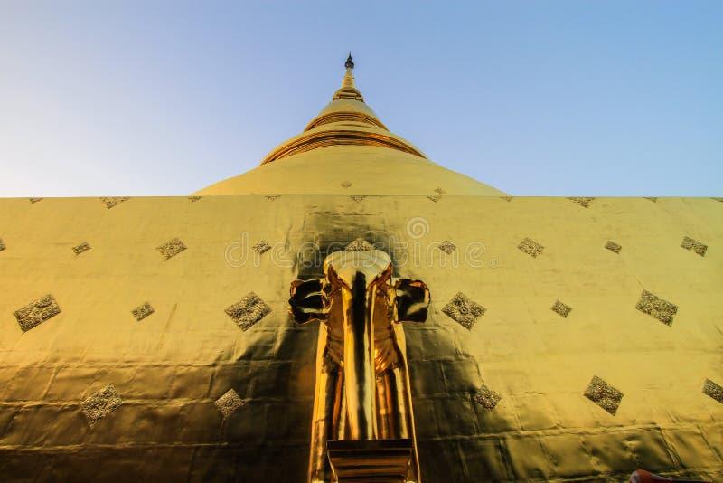 Temple, temple thaïlandais, Wat Pra Singh, Chiang Mai, Thaïlande, photographie stock libre de droits