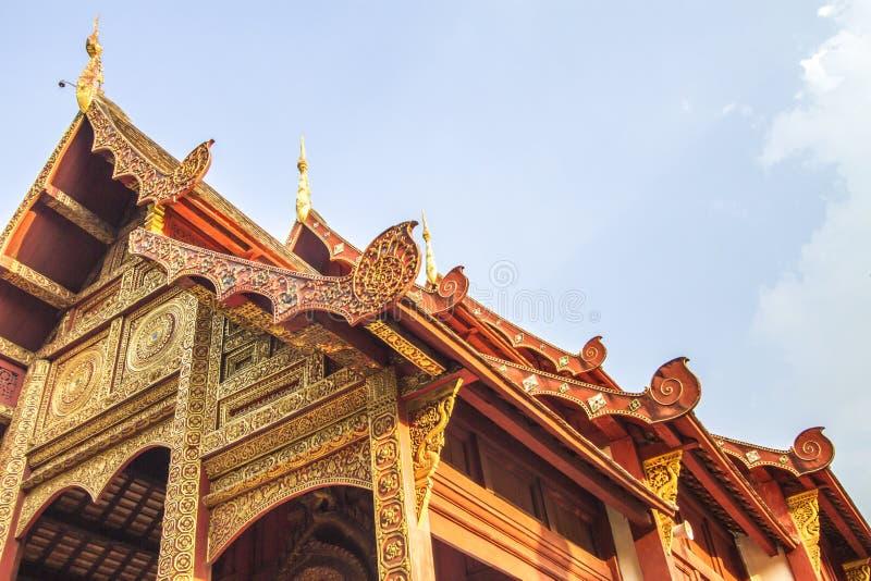 Temple, temple thaïlandais, Wat Pra Singh, Chiang Mai, Thaïlande, photos stock