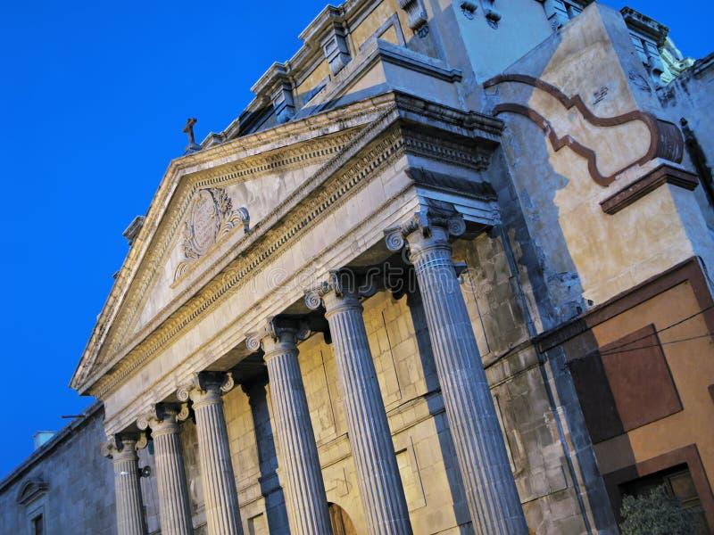 Download Temple Of Teresitas In Queretaro Stock Image - Image: 10568291