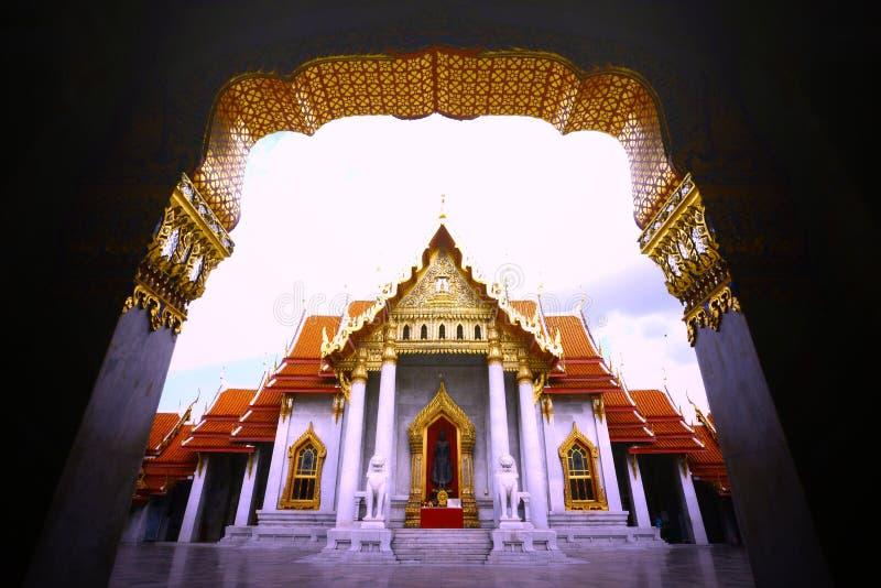 Temple thaï photo libre de droits