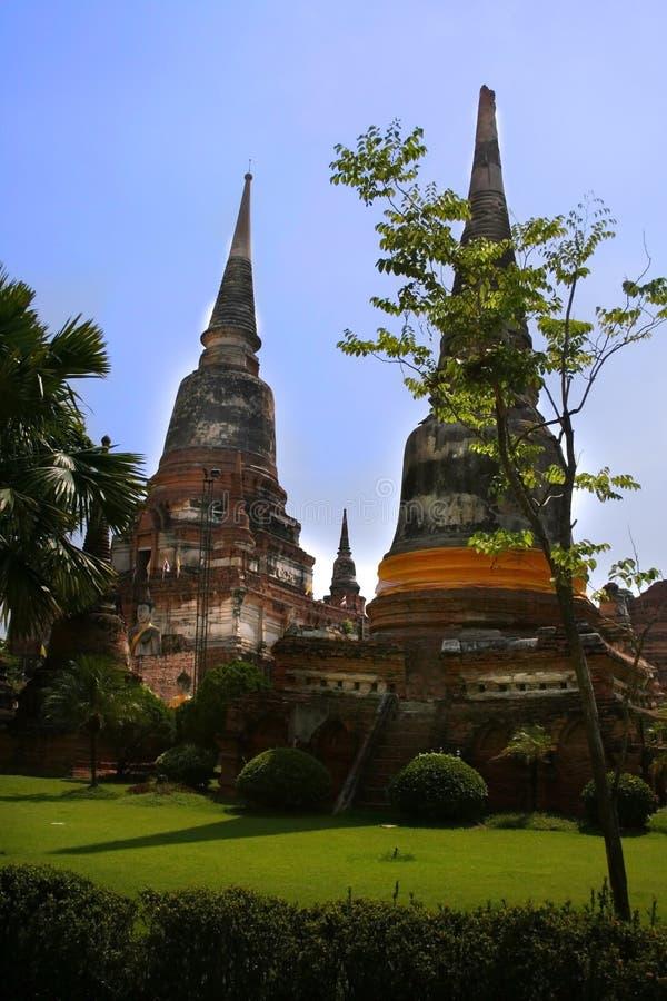 Temple thaï antique images libres de droits