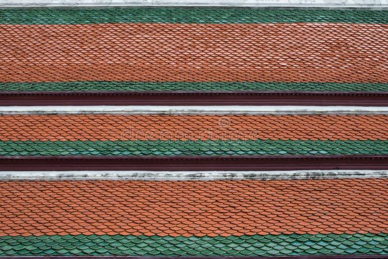 Temple thaïlandais de toit photographie stock