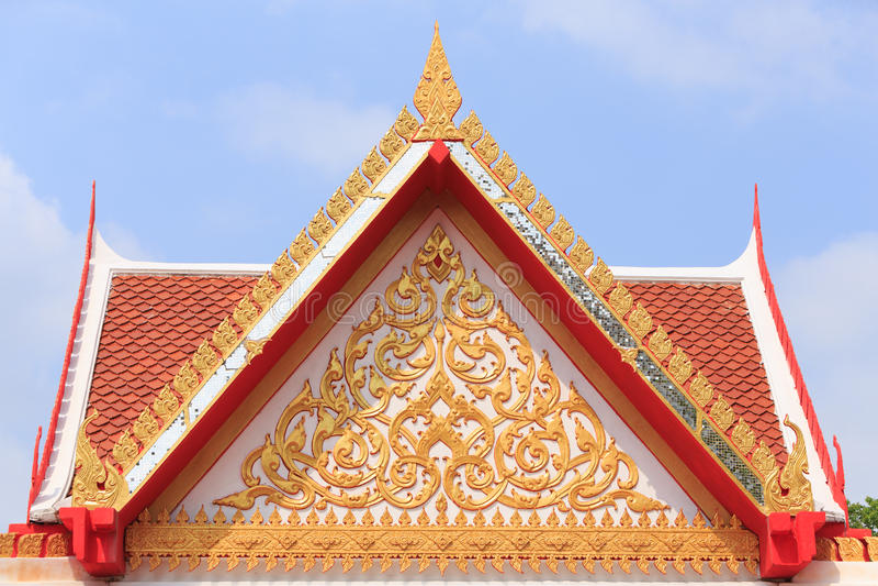 Temple Thaïlande d'or photos libres de droits