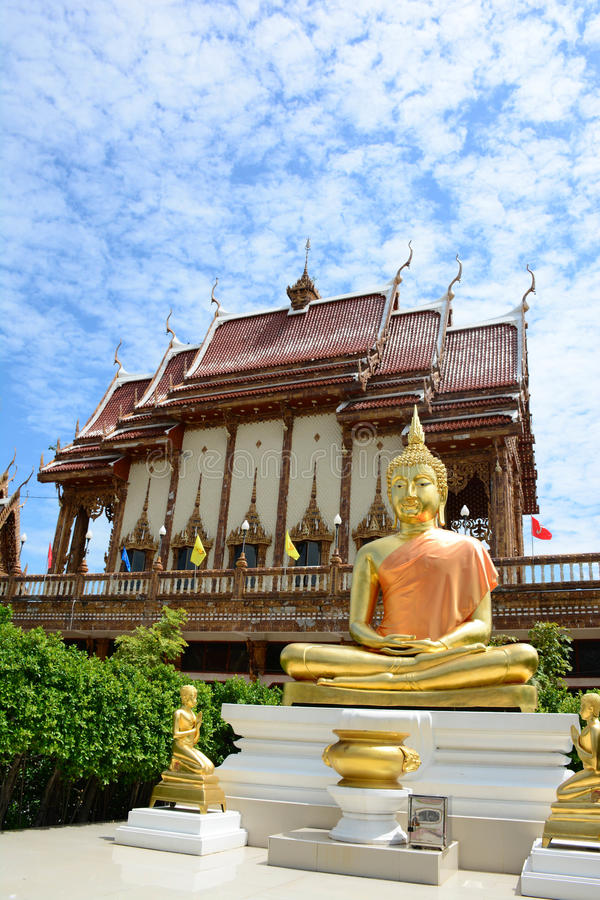 Temple in Thailand. stock image