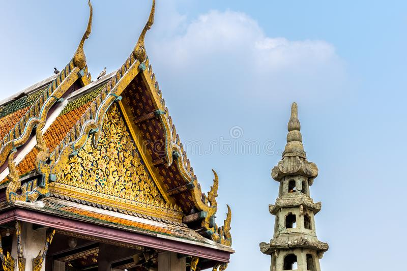 temple in thailand and Asia royalty free stock image