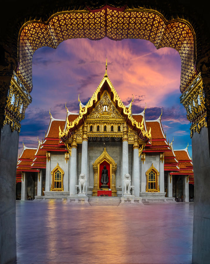 Temple Thailank Bangkok photographie stock libre de droits