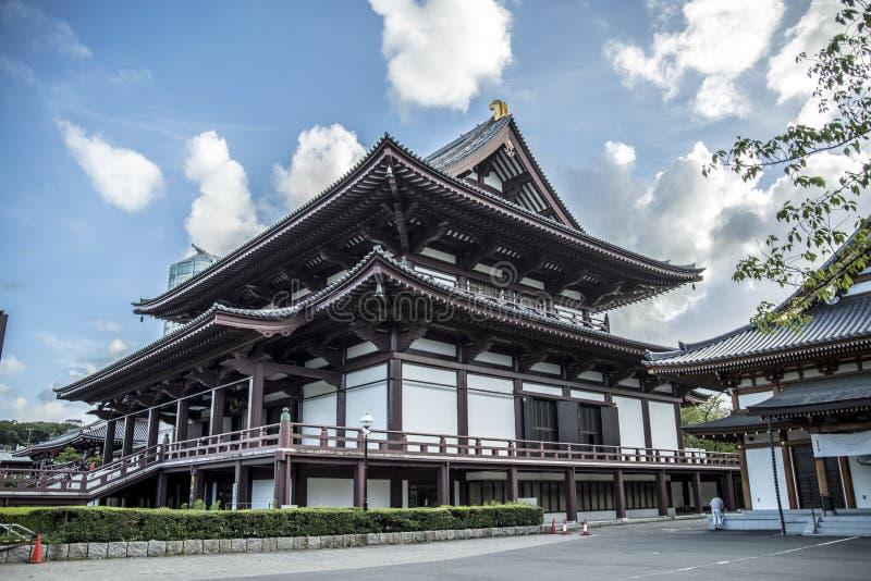 Temple Tokyo de Zoji-Ji image stock
