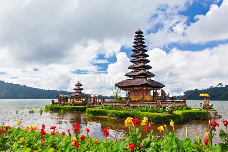 Temple traditionnel de balinese Destination populaire de visite de jour dans Bali photo stock