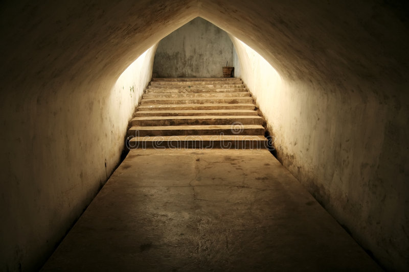 Temple Tunnel Royalty Free Stock Photos