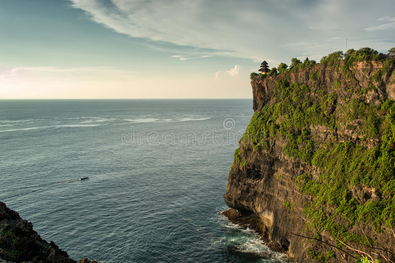 Download The Temple at Uluwatu stock photo. Image of ocean, indonesian - 29804840