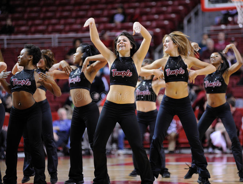 Download Temple University Diamond Gems Dance Team Perform Editorial Image - Image: 18307895