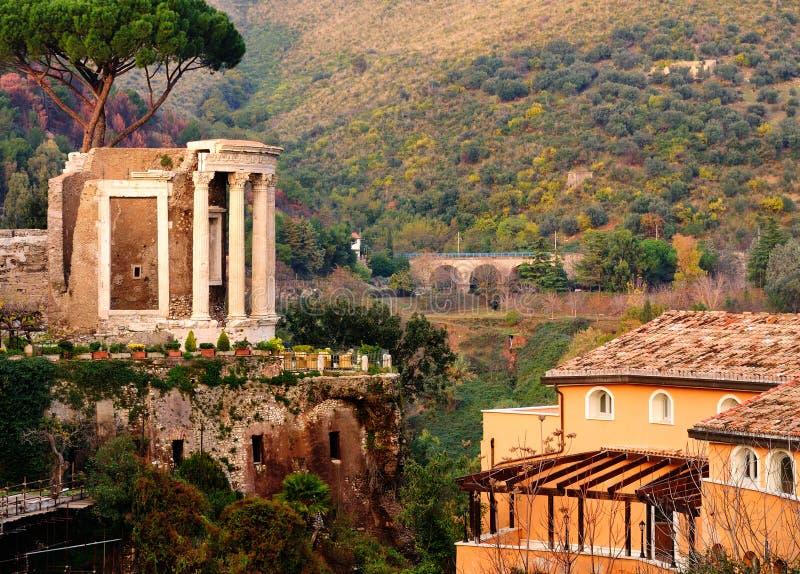 Temple of Vesta, Tivoli stock photography