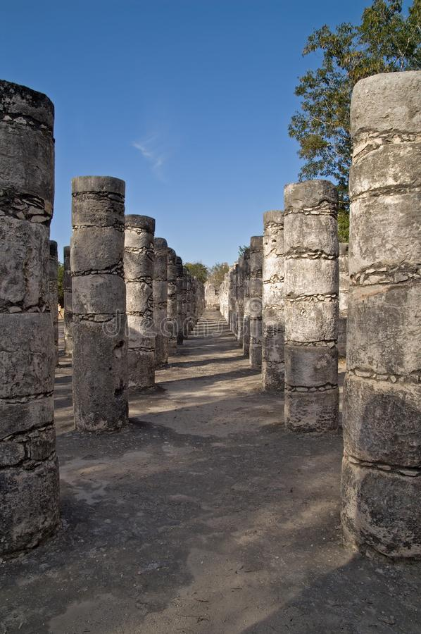 Download Temple Of The Warriors, Chichen Itza, Mexico Stock Image - Image: 15246485