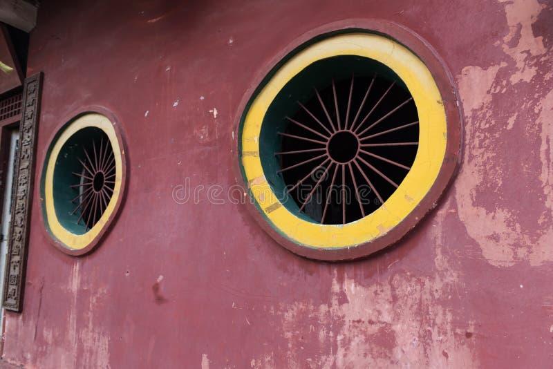Temple window royalty free stock photos