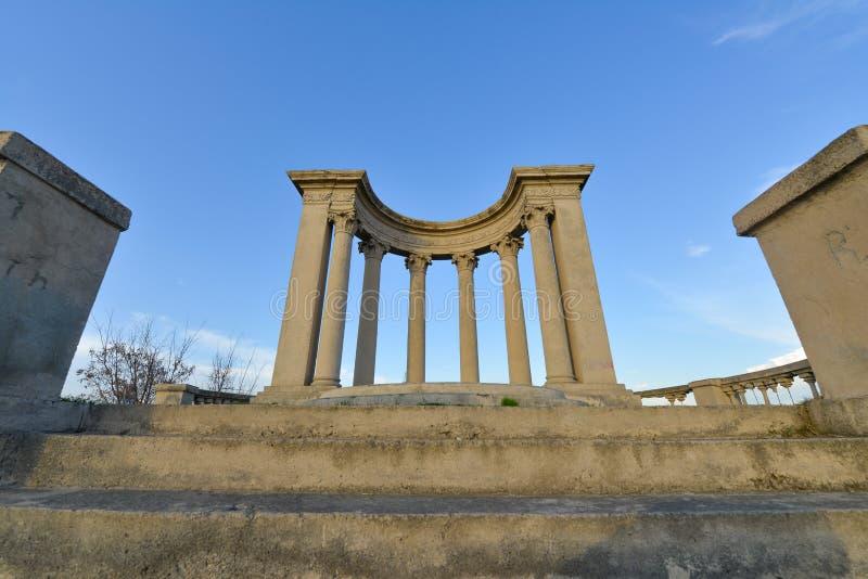 Temple in Yerevan,Armenia. The Temple in Yerevan,Armenia royalty free stock photography