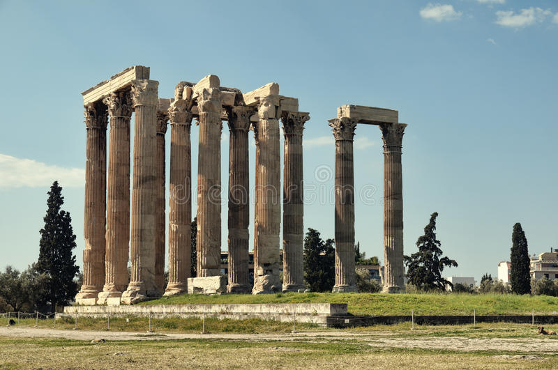 Download Temple Of Zeus, Athens Stock Photos - Image: 19556673