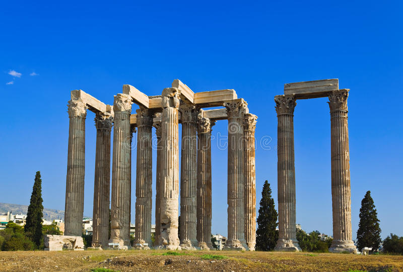 Download Temple Of Zeus At Athens, Greece Stock Photo - Image: 22242544