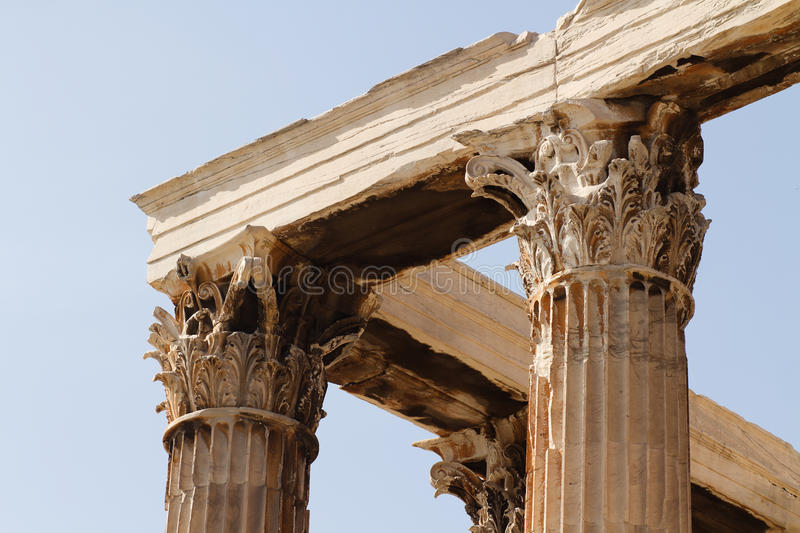 Download Temple Of Zeus Olympian In Athens Stock Photo - Image: 27710492