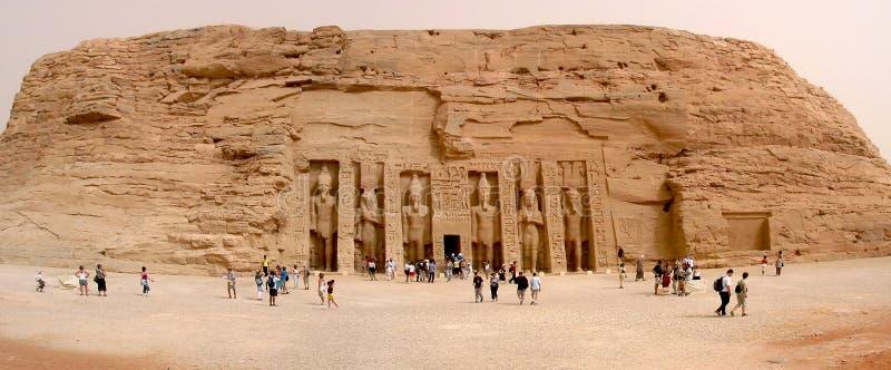 Temples of Abu Simbel stock photo