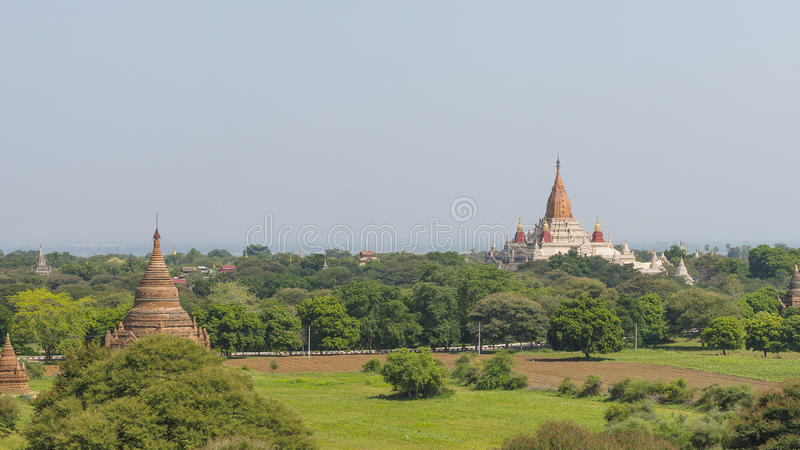 The Temples of Bagan royalty free stock photos