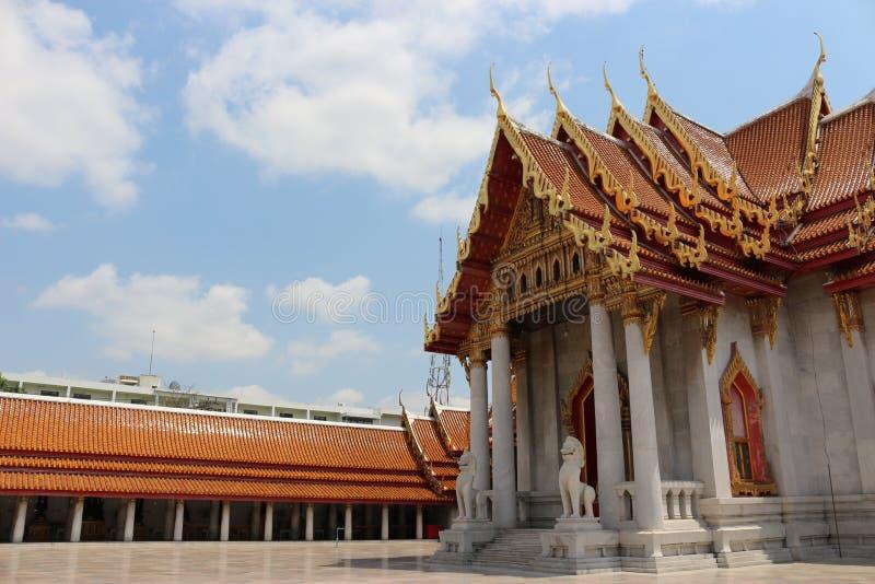 temples in bangkok, sky, thailand royalty free stock photo