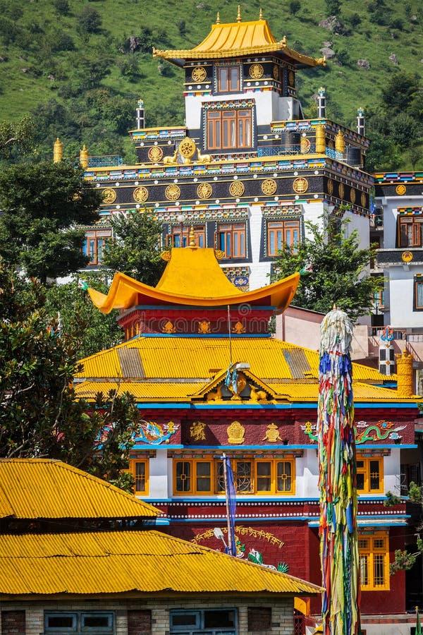 Temples bouddhistes photos stock
