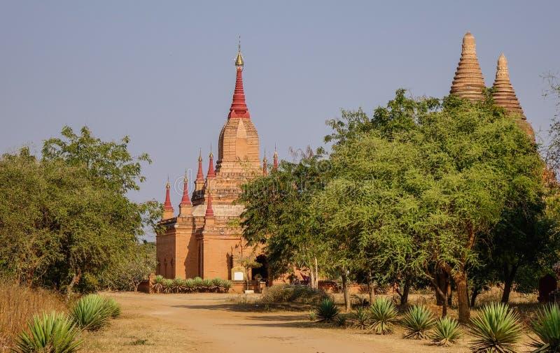 Temples bouddhistes dans Bagan, Myanmar photographie stock