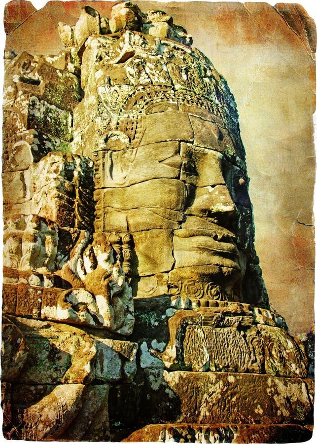 Temples of Cambodia stock photos