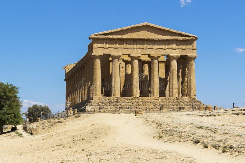 Temples d'Agrigente image libre de droits
