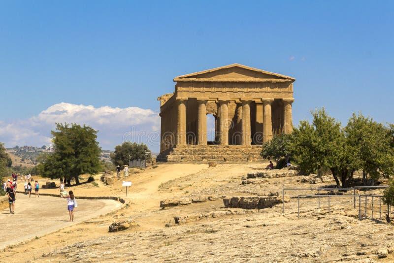 Temples d'Agrigente photo stock