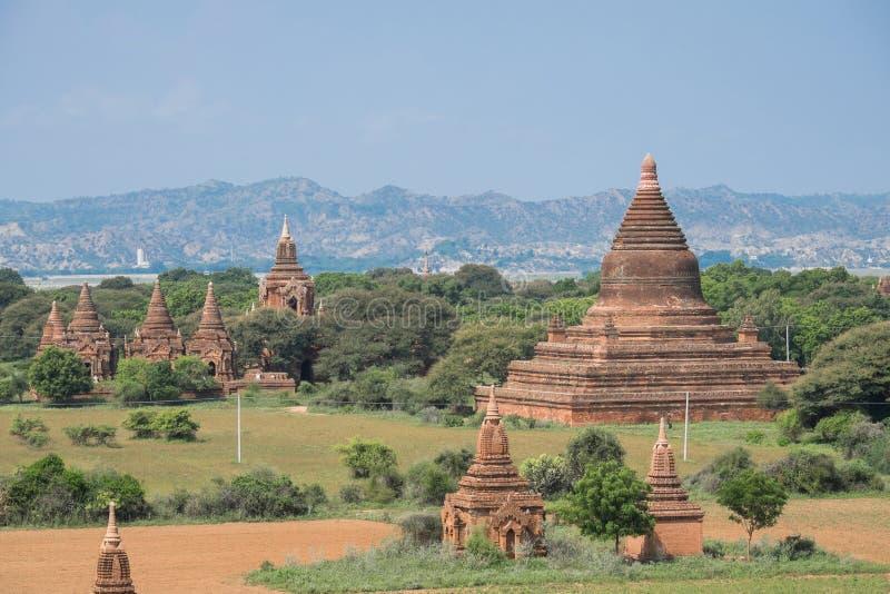 Temples dans Bagan, Myanmar photo libre de droits