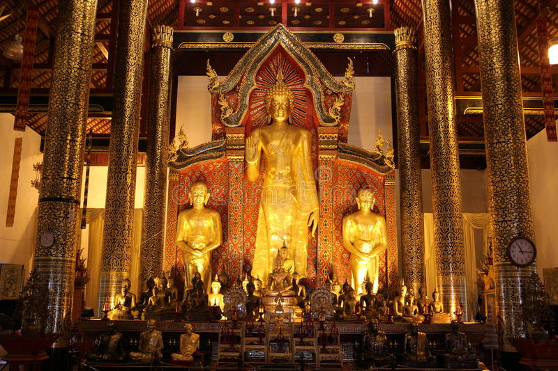 Temples dans Chiang Mai thailand images stock