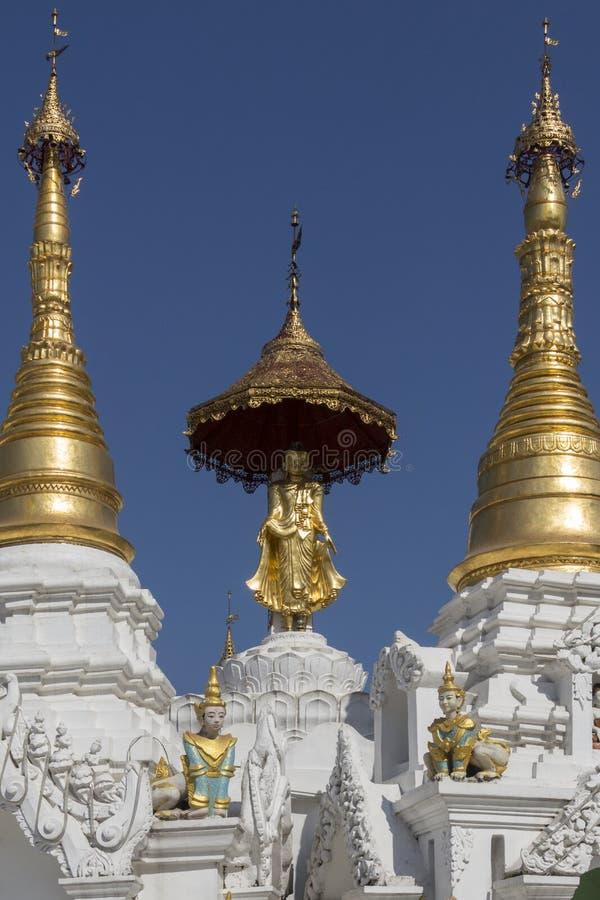 Complexe de pagoda de Shwedagon - Yangon - Myanmar photo libre de droits