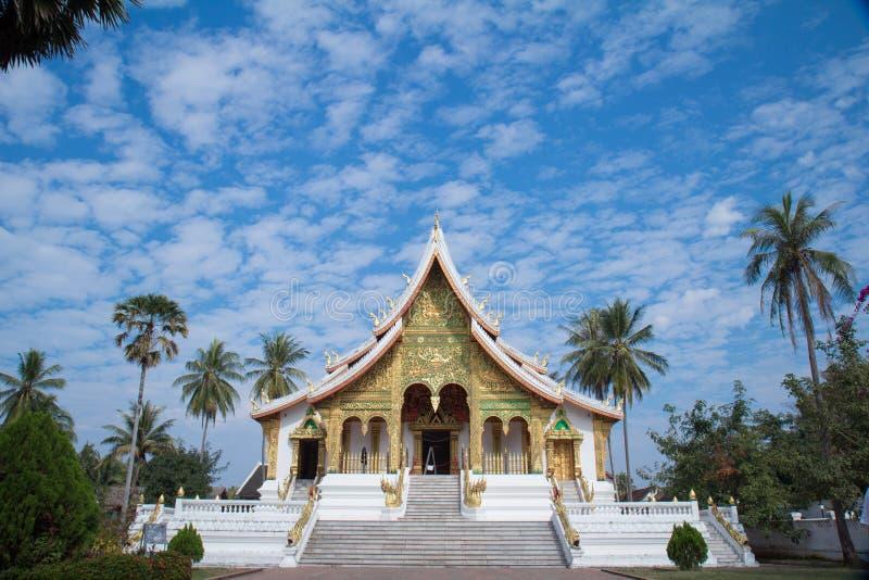 Temples de Luang Prabang photo libre de droits