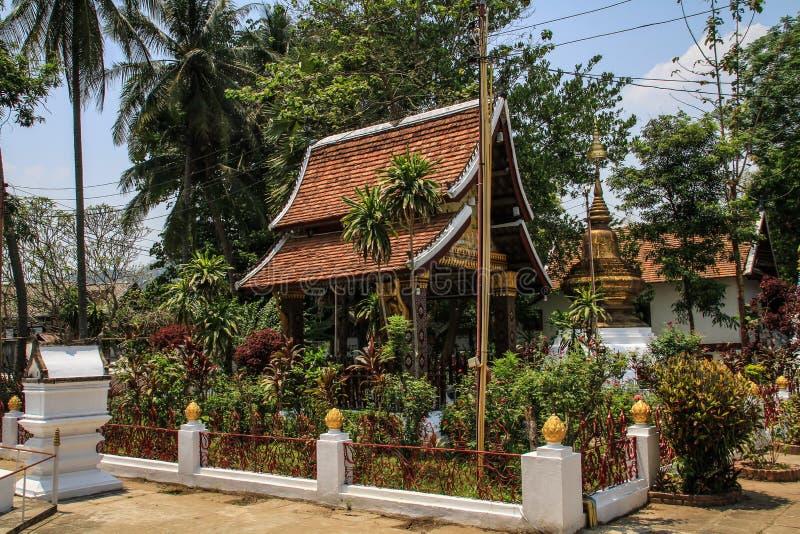 Temples de Luang Prabang, Laos photo libre de droits