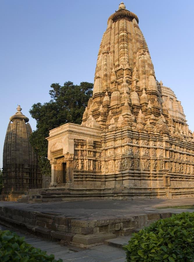 Temples at Khajuraho - India stock photos