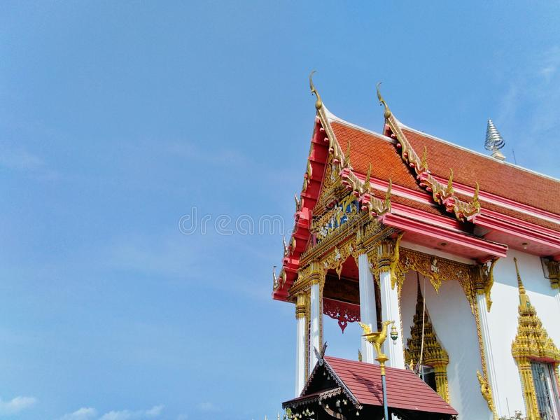 Temples, places of dignity, religion, attractions, archaeological sites royalty free stock photos